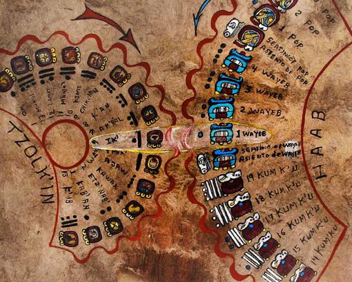 Thirteen Moon Calendar and the Mayan Calendar