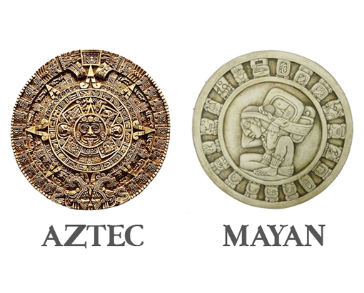The Aztec vs Mayan Calendars - One Astrology, Two Faces