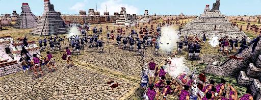 Crusade to Tenochtitlan Templo Mayor Has Fallen